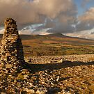 Whernside from Harry Hallam's Moss, Chapel-le-Dale, Ribblesdale, Yorkshire Dales by James Paul
