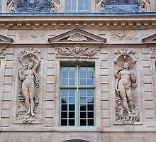 French Windows - Hotel de Sully by Fabio Procaccini