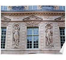 French Windows - Hotel de Sully Poster