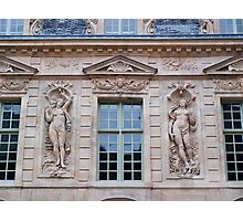 French Windows - Hotel de Sully Photographic Print