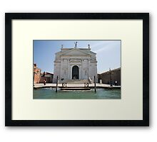 Redentore Church in Venice, Italy. Framed Print