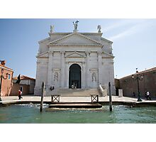 Redentore Church in Venice, Italy. Photographic Print