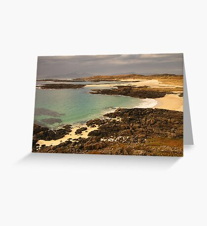Sanna Bay, Ardnamurchan, Highland, Scotland Greeting Card