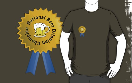 National Beer Drinking Champion by Peter Pesta