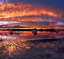 A perfect End to Rainy Day by Bill Atherton