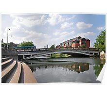 Exeter Bridge, Derby Poster