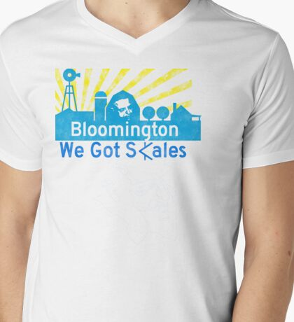 Bloomington, Indiana Mens V-Neck T-Shirt