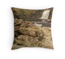 Falls of Falloch, Glen Falloch, Loch Lomond & The Trossachs, Scotland Throw Pillow