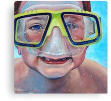 Junior Diver Canvas Print