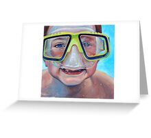 Junior Diver Greeting Card