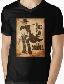 The Good, The Bad & The Obama Mens V-Neck T-Shirt