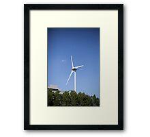 Wind Turbine Framed Print