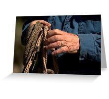 """Roping Hands""- Cracker Cowboys Greeting Card"