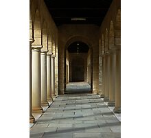 Colonnade 2 Photographic Print