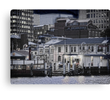 captain fell's ferries Canvas Print