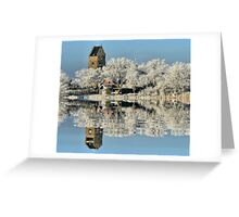 NATURES WINTER MIRROR # 2 Greeting Card
