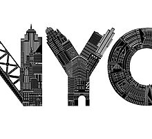 NYC by Robert Farkas