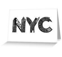 NYC Greeting Card
