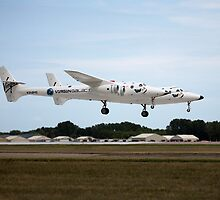 White Knight 2 landing at Oshkosh by bleriger