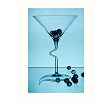 Cocktails with Dali - Print Art Print