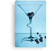 Cocktails with Dali - Print Metal Print