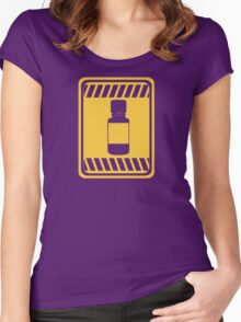 [blox] Poppers Women's Fitted Scoop T-Shirt