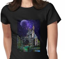 The Magic castle II Womens Fitted T-Shirt