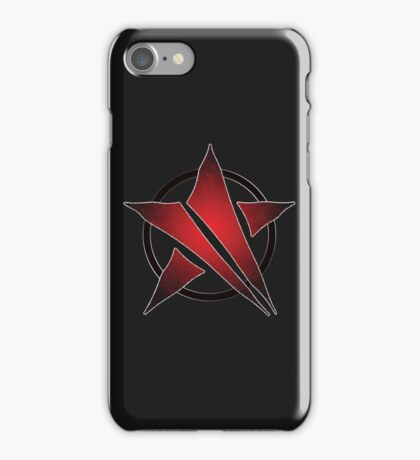 The Shattered Star (Red Alt) iPhone Case/Skin
