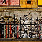 Bicycle in Amsterdam by John Quixley