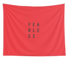 FEAR LESS. Wall Tapestry