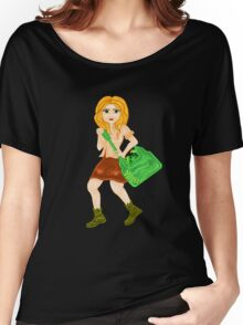 NATURE GIRL Women's Relaxed Fit T-Shirt