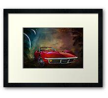 Chevrolet Corvette1972 Framed Print