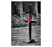 lest we forget ....... Photographic Print