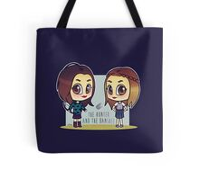 The Hunter and the Banshee Tote Bag