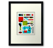 Sewing Framed Print