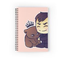 Crowley Adopts A Wombat Spiral Notebook