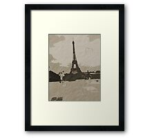 Amour de Paris Framed Print