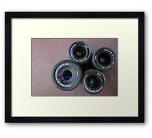 Life through a Lens Framed Print