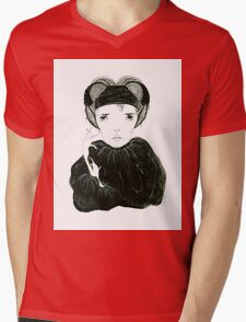 Елена Mens V-Neck T-Shirt