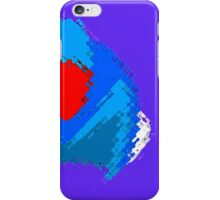 Mega Helm Splatter iPhone Case/Skin