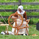 Spinning wheel by mltrue