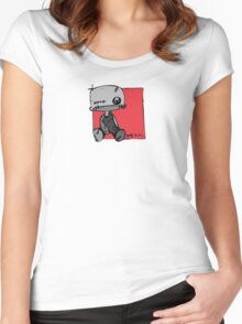 Gief Love - Drawing Day 2010 Women's Fitted Scoop T-Shirt