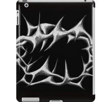 crown of thorns  - black iPad Case/Skin