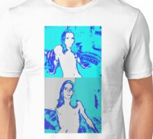 Darker Blue # 3 Double Panel Male Youth Unisex T-Shirt