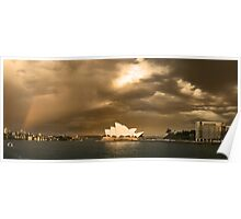 Harbour and Opera house Poster