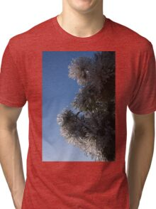 Ice Flowers in the Sky Tri-blend T-Shirt