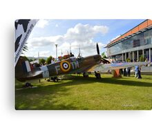 The Ulster Spitfire Canvas Print