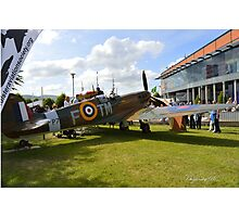 The Ulster Spitfire Photographic Print