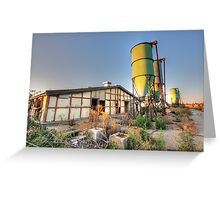 Structures II Greeting Card