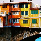Ponte Vechio Bridge by Ronald Rockman